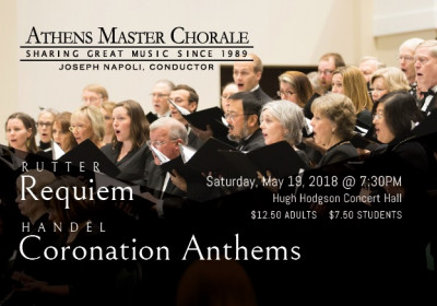Rutter Requiem and Coronation Anthems